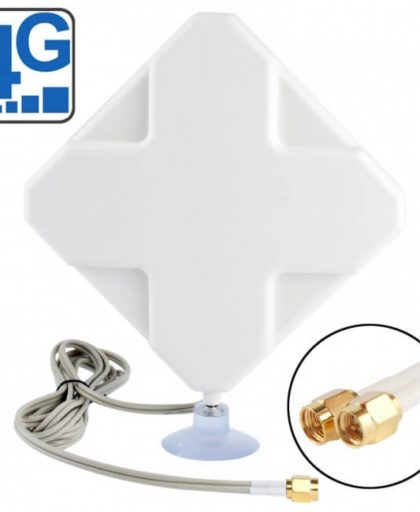 | 35dBi 4G Antenna Two Connector TS-9/CRC-9/SMA